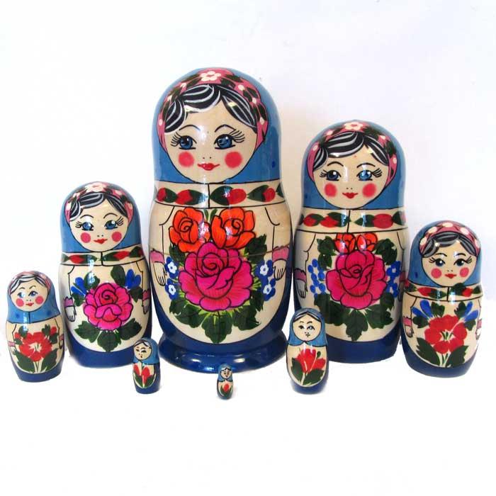 Matryoshka Alionka (8 pieces)