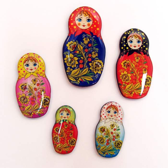 Set of Magnets Matryoshka