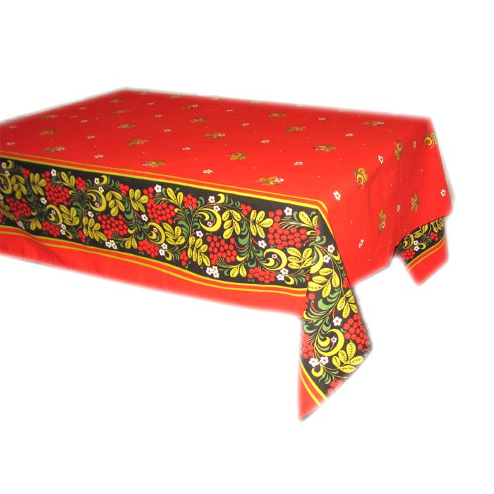 Tablecloth Khohloma Style