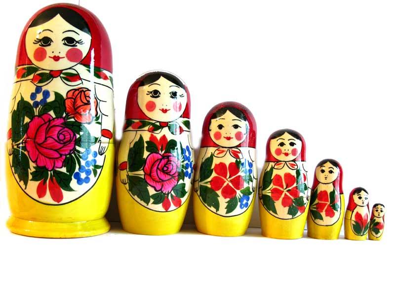 Matruska Doll Semionovo