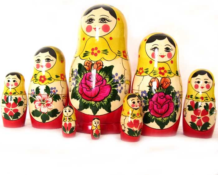 Nested Doll Alenka 8 pieces set