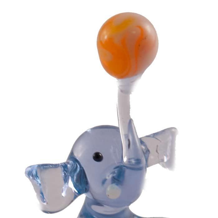 Glass Elephant Miniature