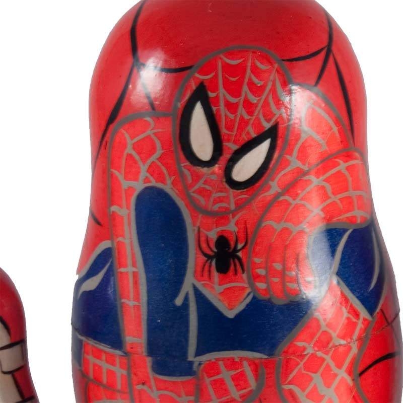 Spiderman Matryshka Doll