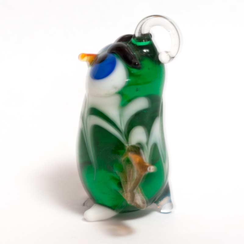 Owl Glass Pendant