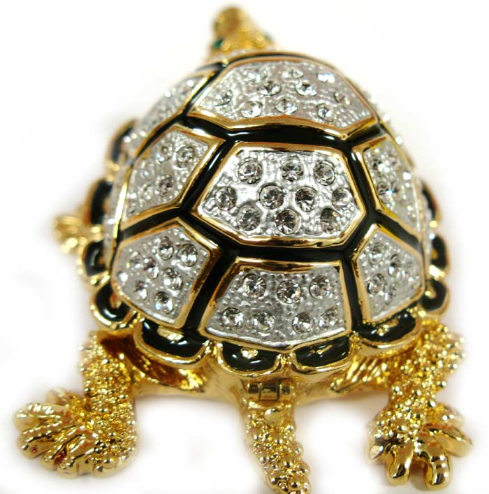 Jewelry Box Silver Turtle Faberge Jewellery Faberge Box
