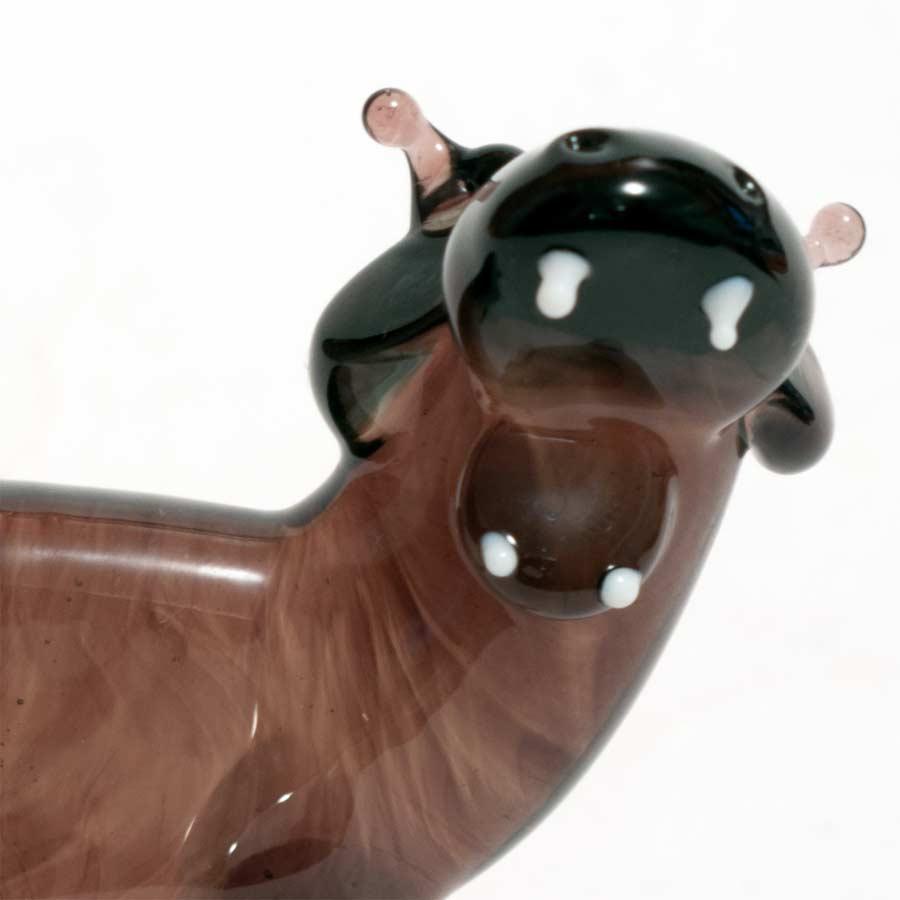 Black hippo