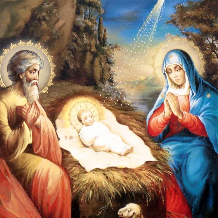 Icon Nativity Scene