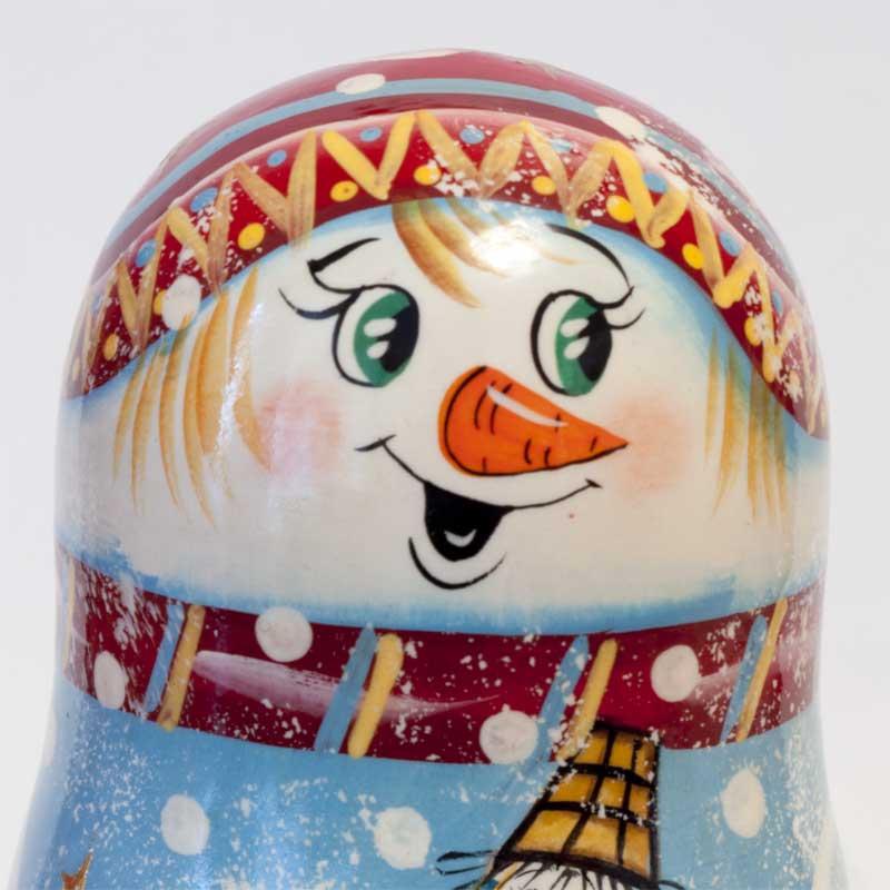 Snowman Ornaments Set