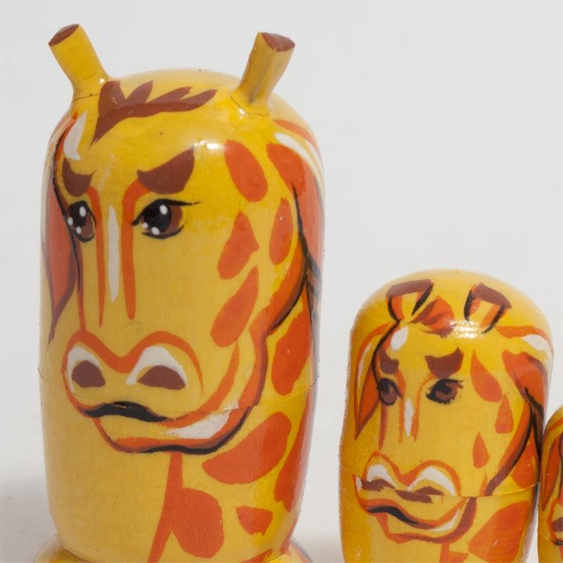 Matryoshka Doll Giraffe
