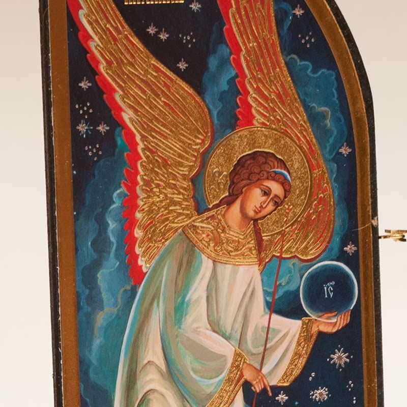 Nativity Triple Icon (Skladen)