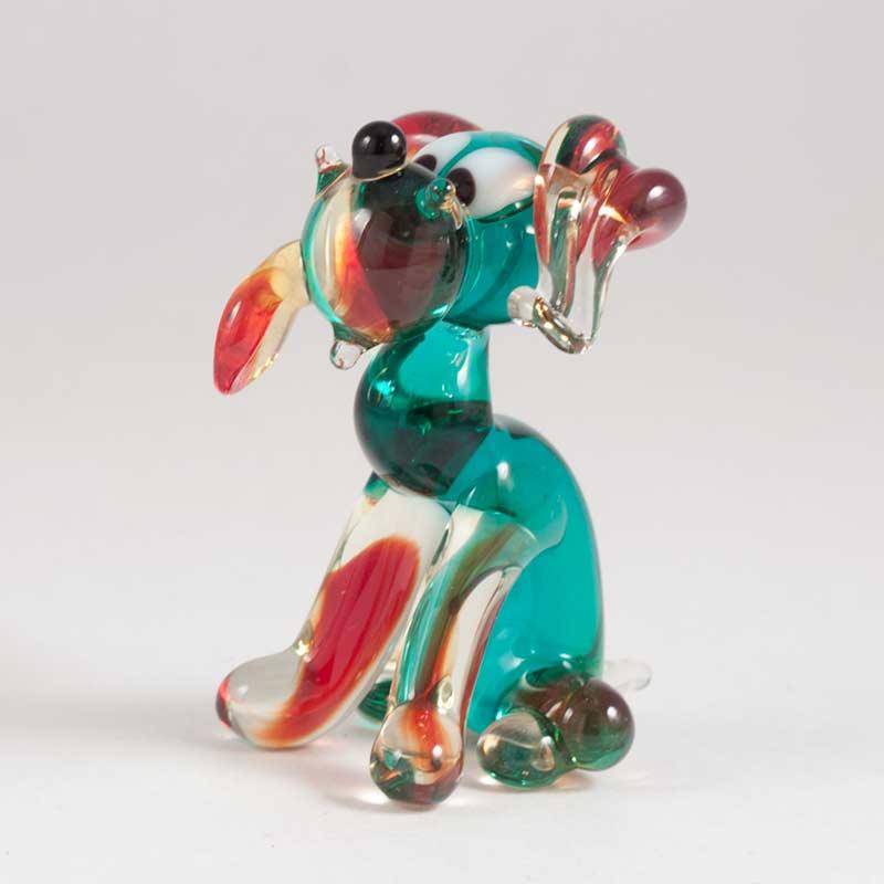 Glass Doggy Figure