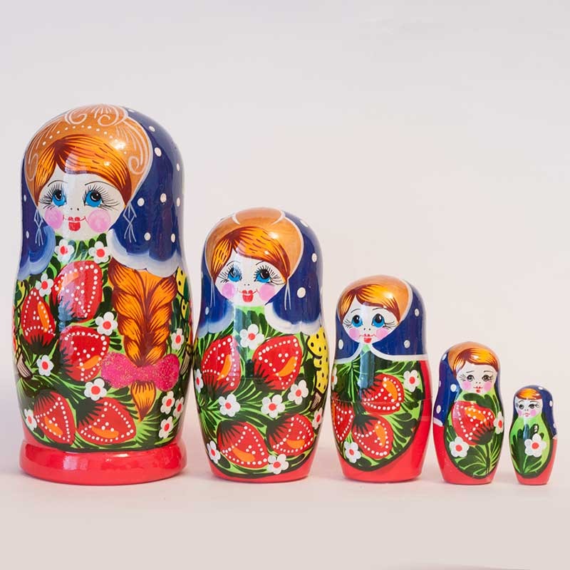 Polina's Traditional Matryoshka