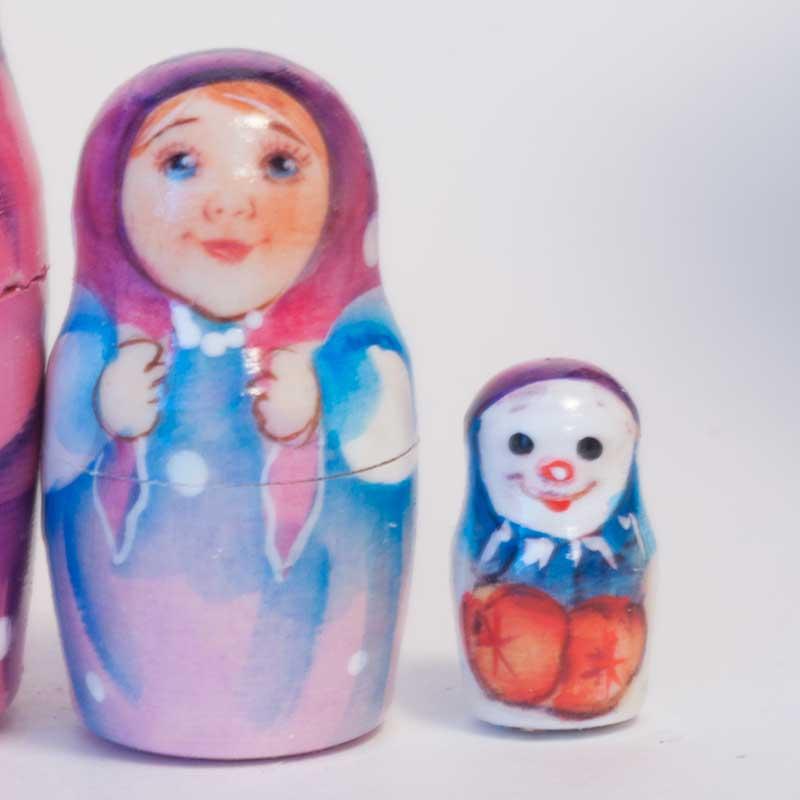 Matryoshka Santa and Kids