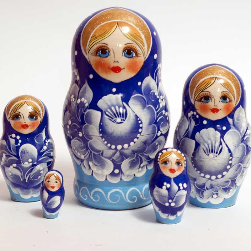 Nesting Doll Gzel Motives