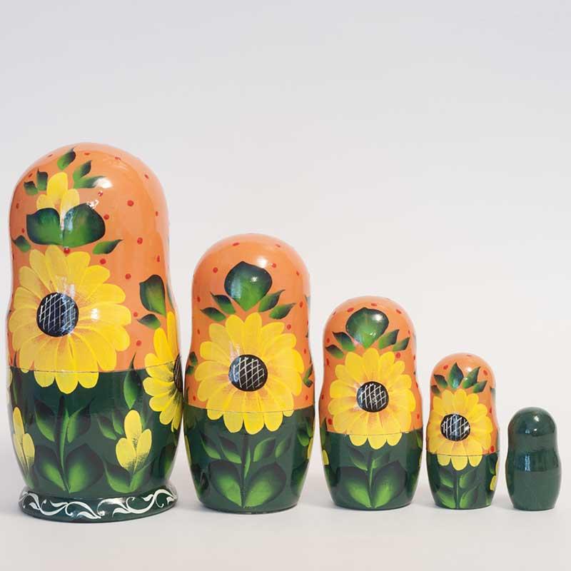 Matryoshka Sunflowers