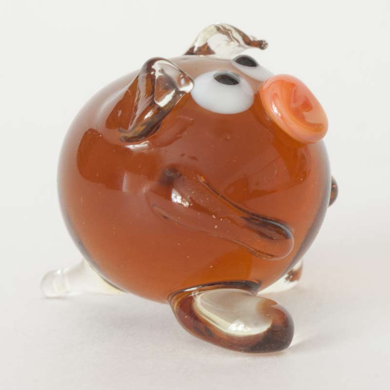 Glass Piglet