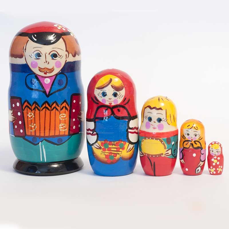 Matryoshka Russian Family