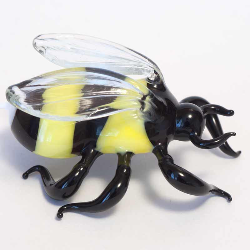 Bumblebee glass figurine