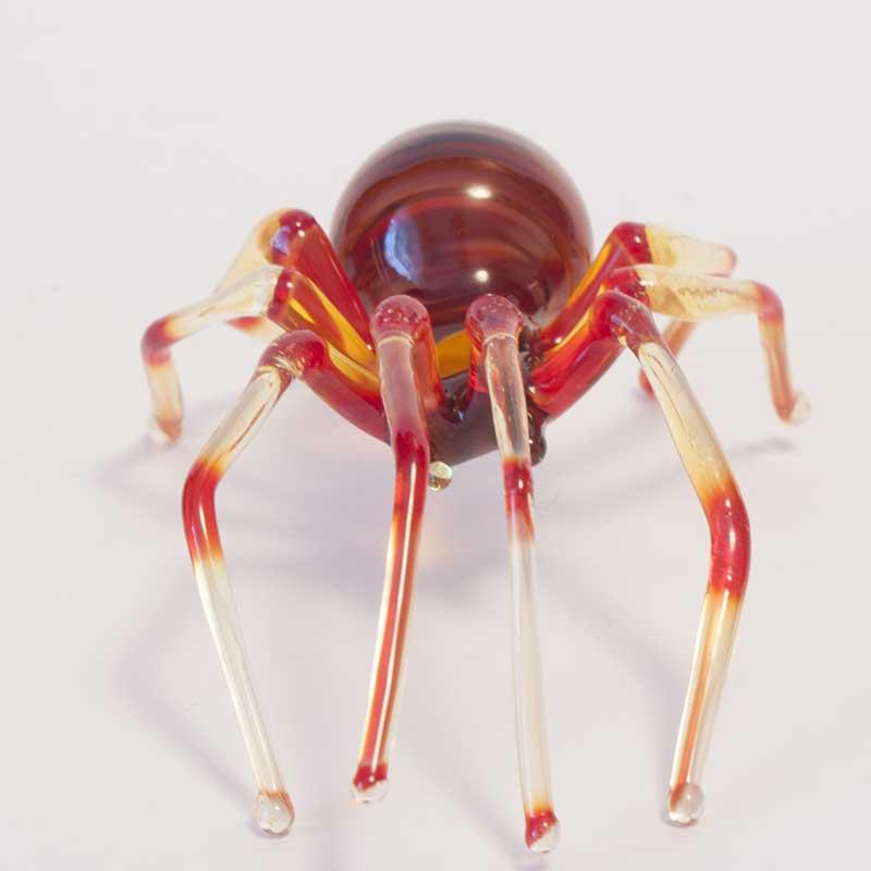 Glass Spider Figurine