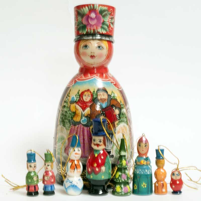 Winter Motives Ornaments Set