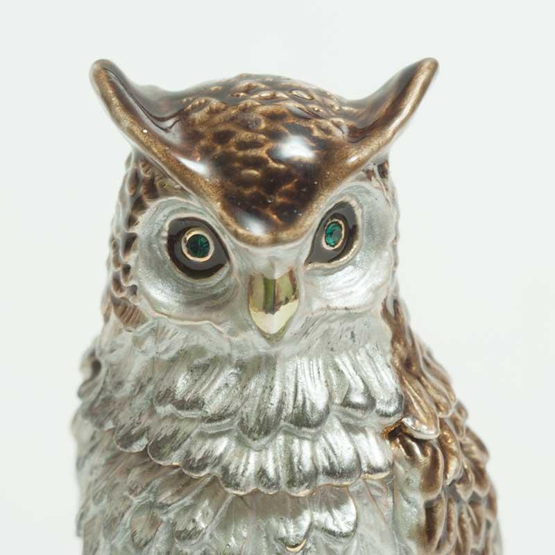 Faberge Box Owl
