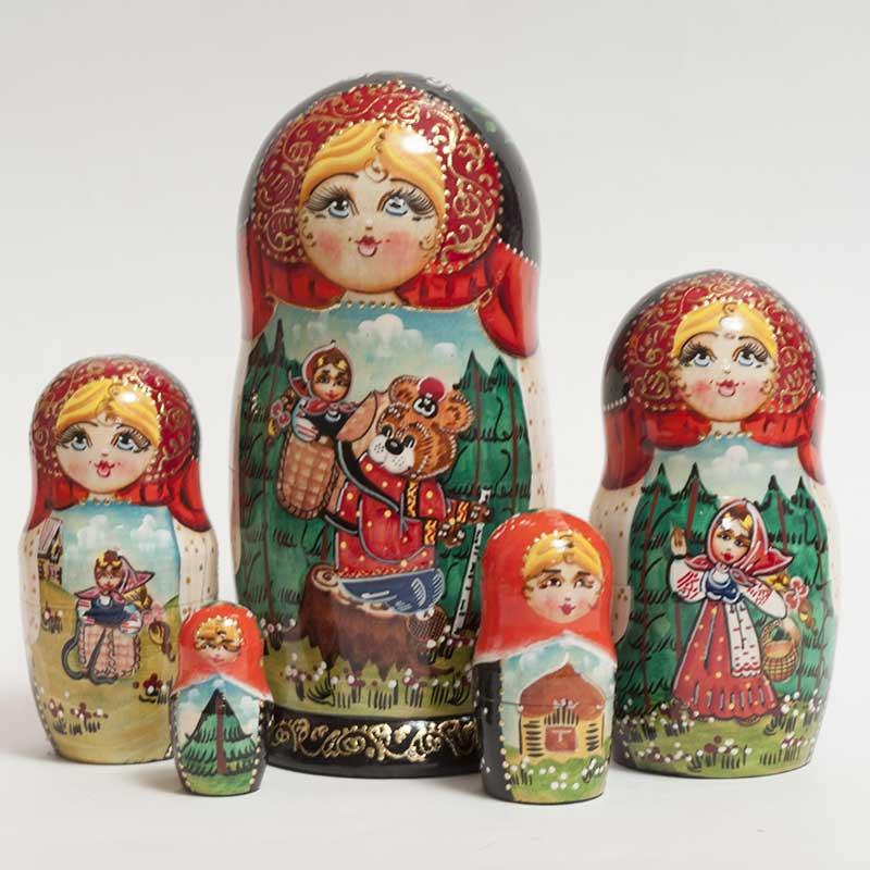 Russian Tale Masha and Bear