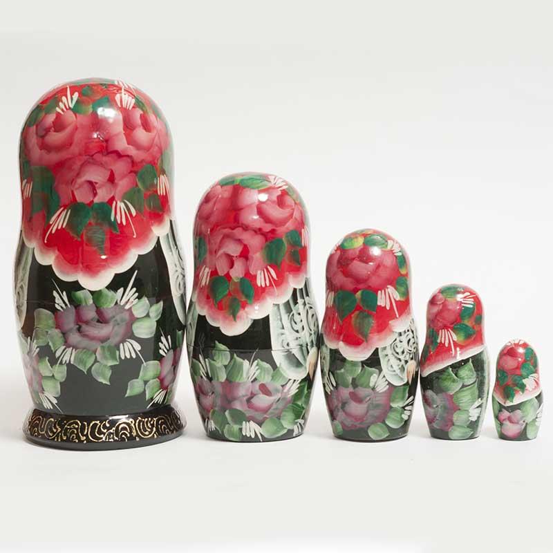 Matryoshka Doll WInter Time