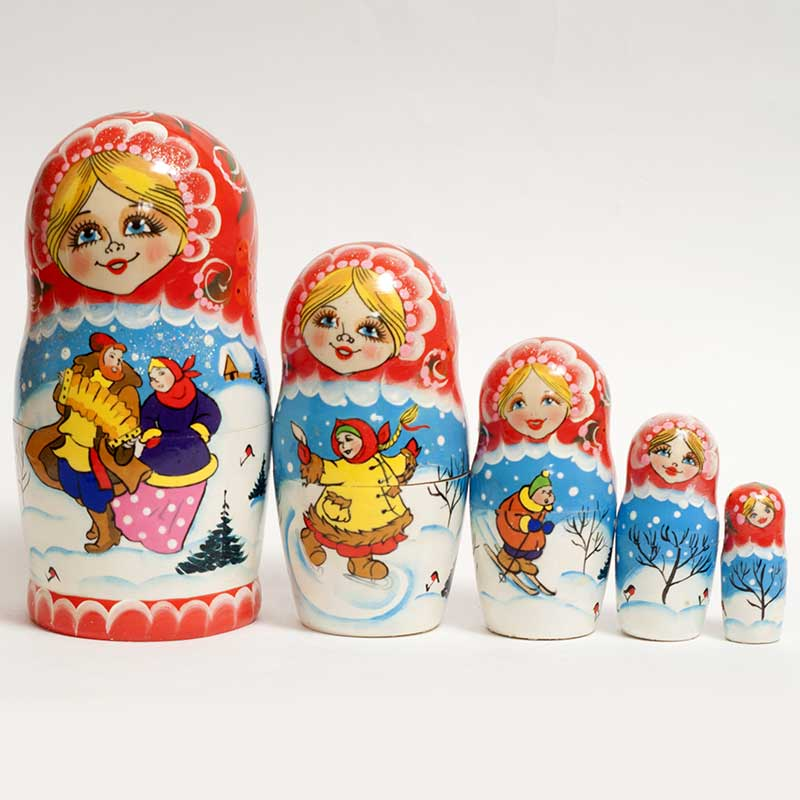 Russian Doll Spring Festive Time