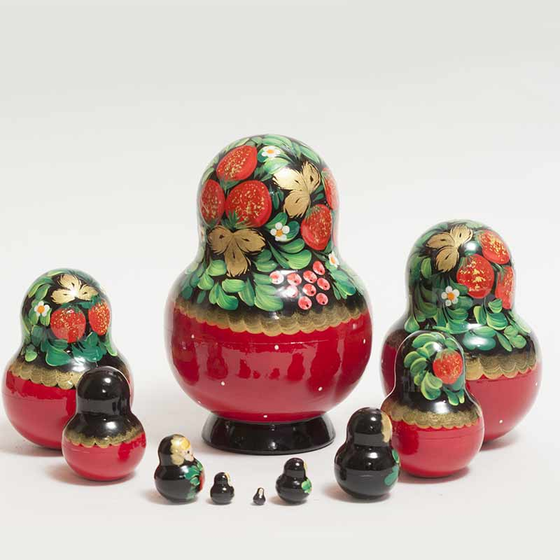 Matryoshka Strawberries