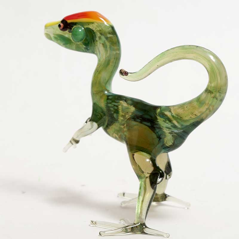 Glass Dinosaurus Figure