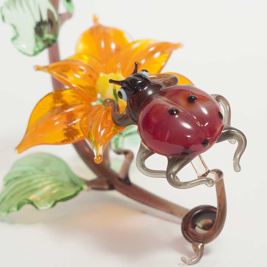 Ladybird on the Flower