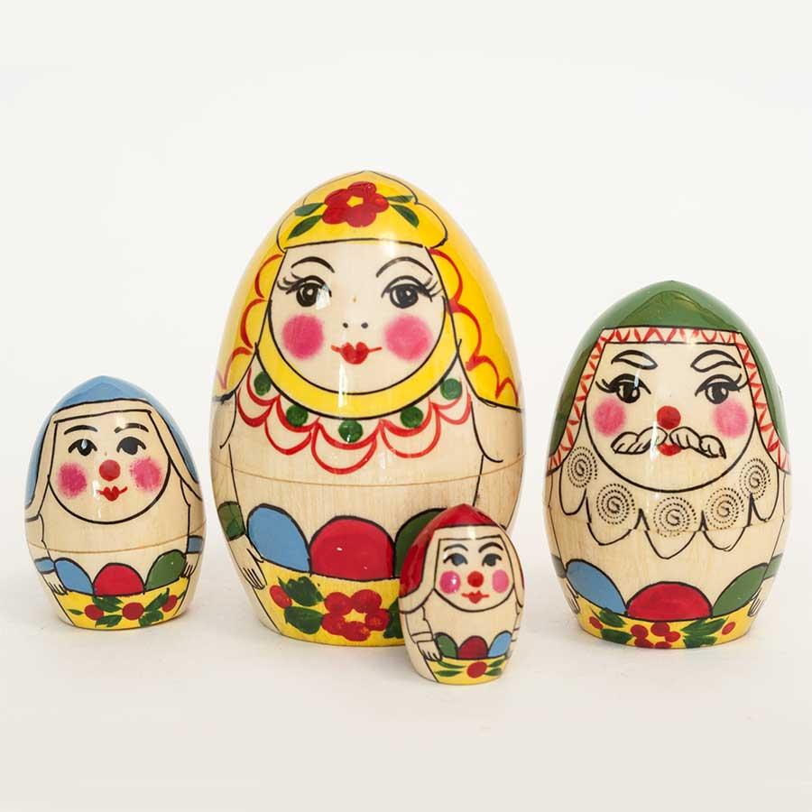 Nesting Eggs Family