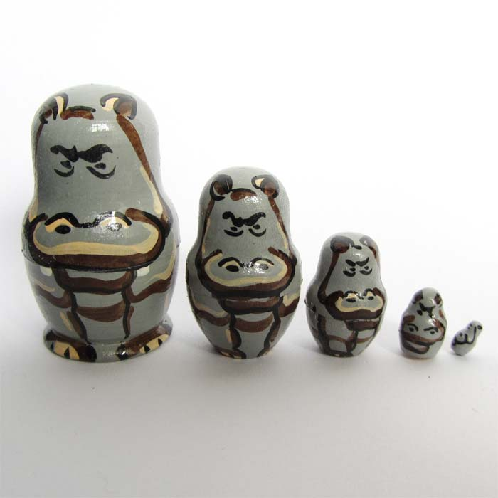 Hippo Russian Doll