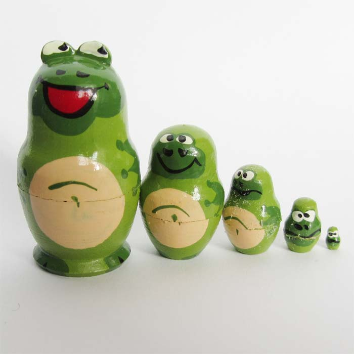 Frogs Matryoshka Doll