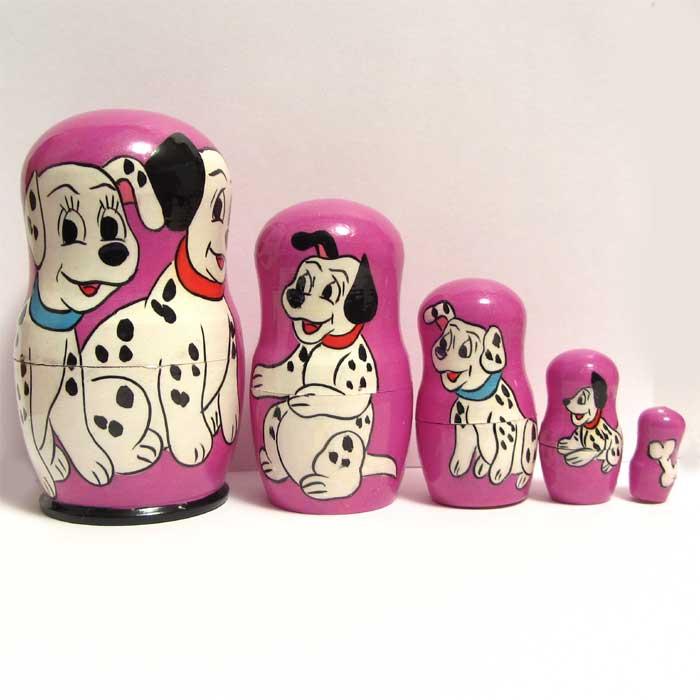 101 Dalmatians Nesting Doll
