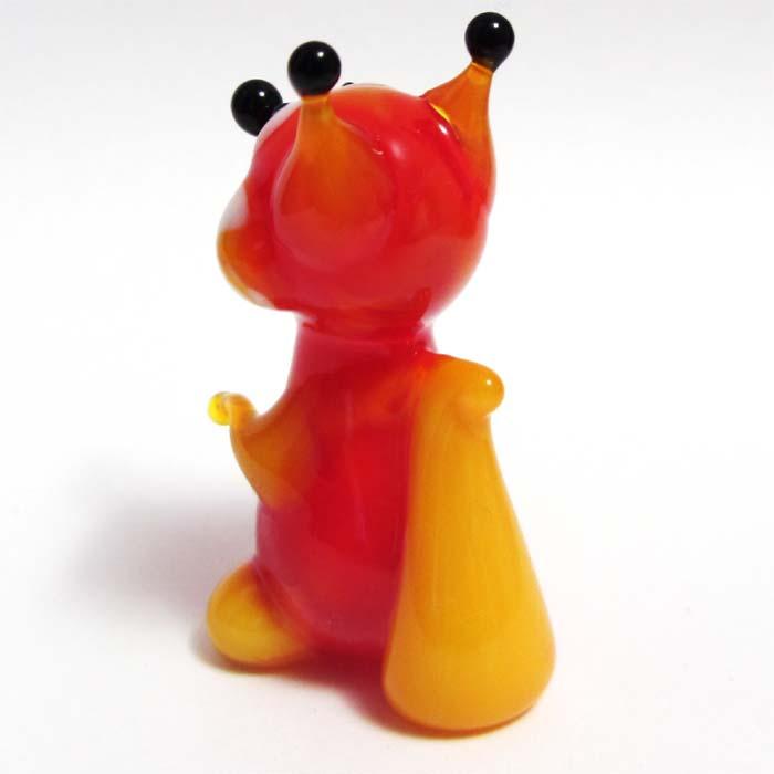 Glass Fox Figure