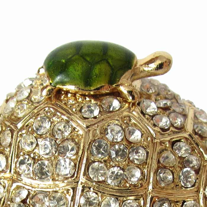 Jewelry Box Two Turtles