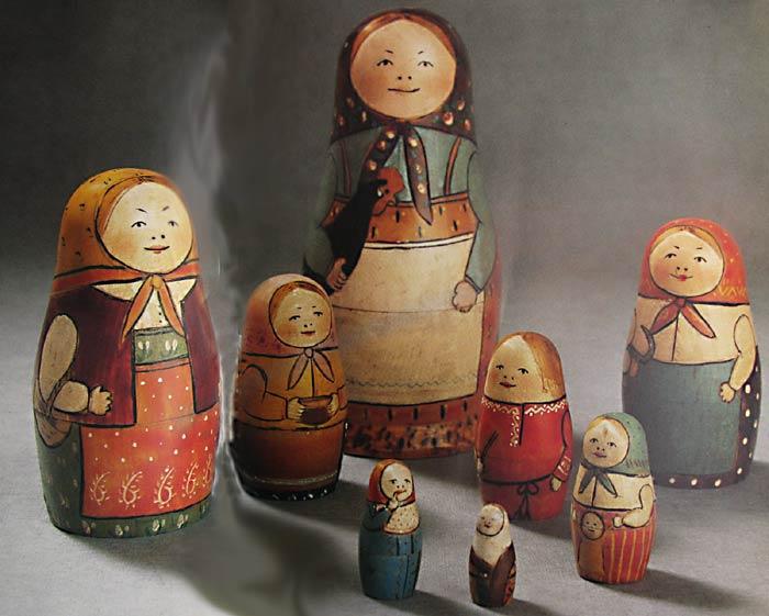 Matryoshka Russian Nesting Dolls Slavorum
