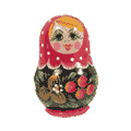 Matrioshka Fridge Magnets
