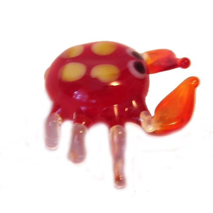 Glass Crab Figure