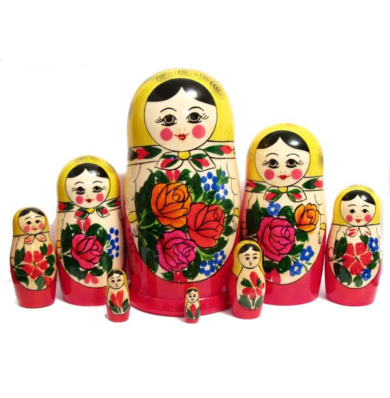 Matryoshka Russian Girl