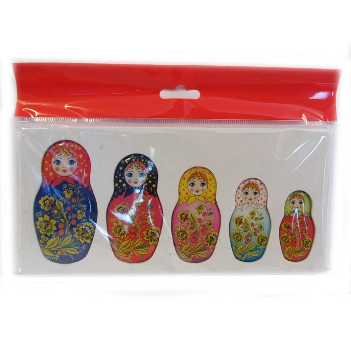 Set of Magnets Matryoshka