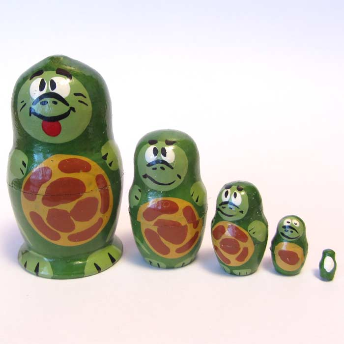 Turtles Nesting Doll