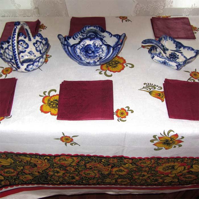 Table Set Khohloma