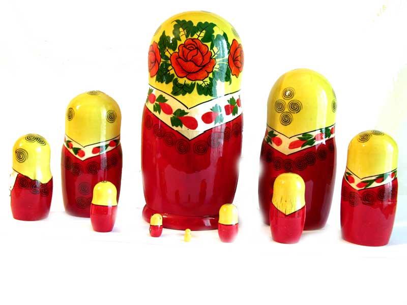 Matrioshka Semionovo 10 pieces
