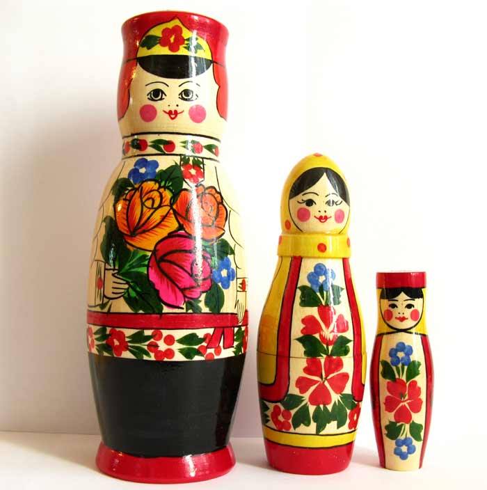Nesting Doll Russian Family, fig. 1