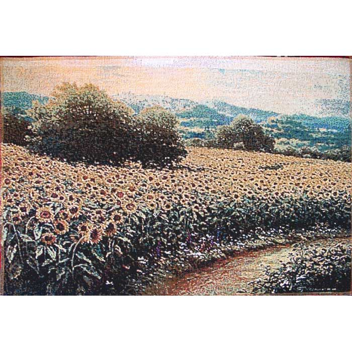 Tapestry picture Sunny field