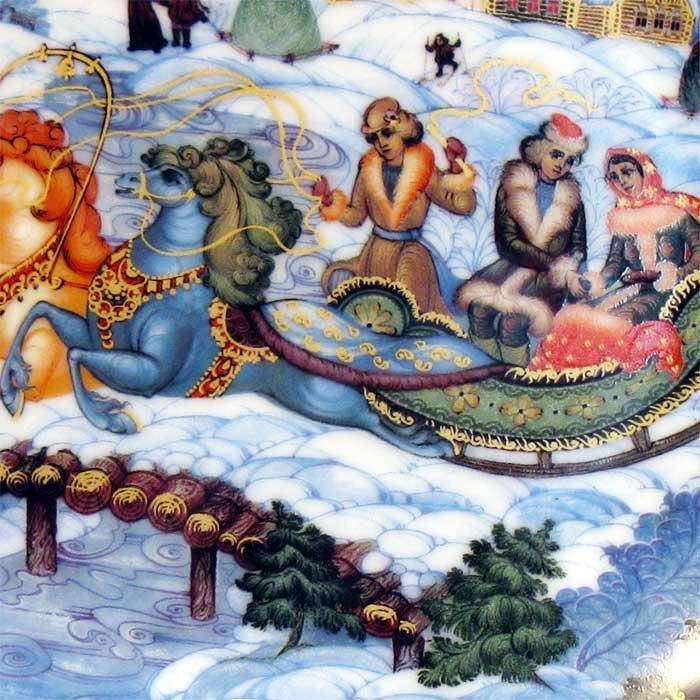 Russian Winter Troyka