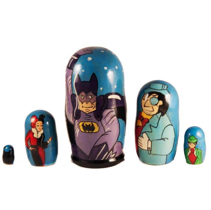 Batman Russian  Matryoshka