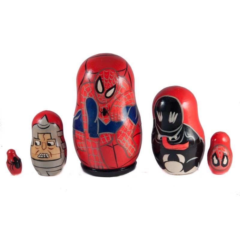 Spiderman Nesting Doll